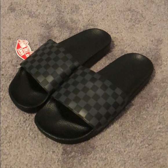 eafd55eaf Vans Shoes | Mens Brand New Slides | Poshmark